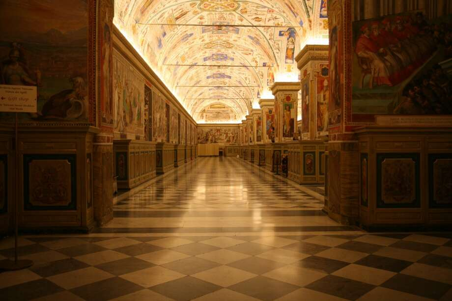 The Vatican Apostolic Library, inside the Vatican Palace, dates back to the 15th century. Photo: Sura Ark, Flickr Vision