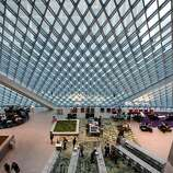 "The Seattle Public Library's Central Library opened in 2004. Writing in The New Yorker, critic Paul Goldberger called it ""the most important new library to be built in a generation, and the most exhilarating."""