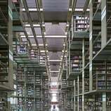 Mexico City's glass and steel Biblioteca Vasconcelos, dubbed the Megabiblioteca (megalibrary), opened in 2006.