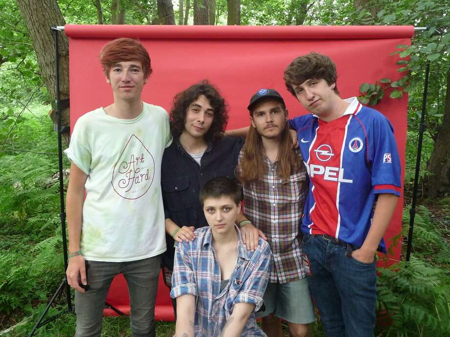 "Joanna Gruesome will release its first full-length album ""Weird Sister"" in September. Photo: Tom Atkins"