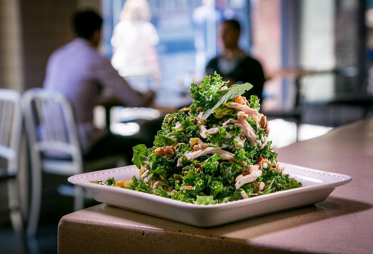 The Chicken Salad with Kale at Cafe Terminus in San Francisco, Calif. is seen on August 15th, 2014.