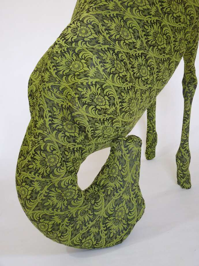 "Misa Inaoka's ""Sprouts"" is a 38-by-38-by-20-inch work of mixed media. Photo: Courtesy Of The Artist And Johan"