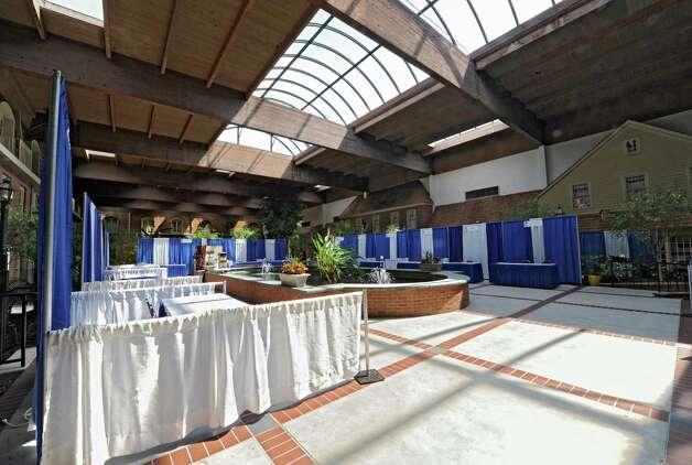 Interior of the Desmond Hotel & Conference Center Monday, Aug. 18, 2014 in Albany, N.Y. John K. Desmond Jr., a Philadelphia native who built the Desmond Hotel & Conference Center died Saturday at the age of 90. (Lori Van Buren / Times Union) Photo: Lori Van Buren / 00028218A