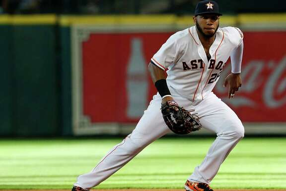 The Astros are hopeful that first baseman Jon Singleton, who has nine errors in just 64 games, will return to the above-average defensive form he showed in the minor leagues.