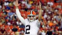 Manziel adds gesture to preseason struggles - Photo