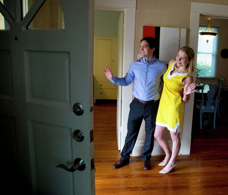 Hunter and Jennifer Wright have welcomed renters into their home for a night or weekend by using the web service Air BnB.  The Wrights who own a home inside the north loop have had good experiences renting out there home through Air BnB. (Billy Smith II / Houston Chronicle) Photo: Billy Smith II, © 2014 Houston Chronicle / © 2014 Houston Chronicle