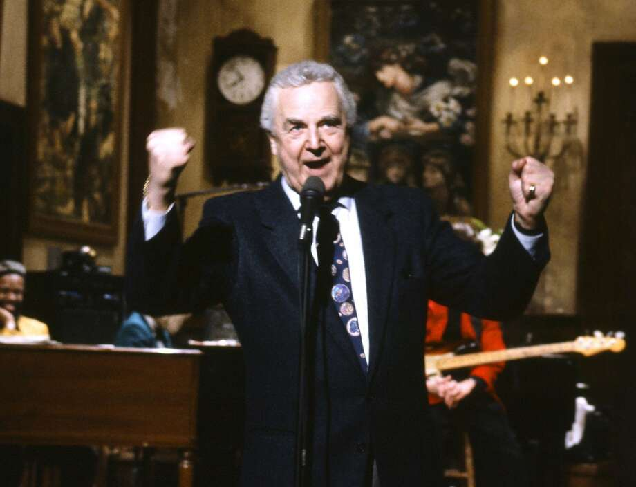 "Don Pardo was the announcer for ""Saturday Night Live"" since its inception in 1975, aside from a displacement in season seven. Photo: Al Levine, Associated Press"