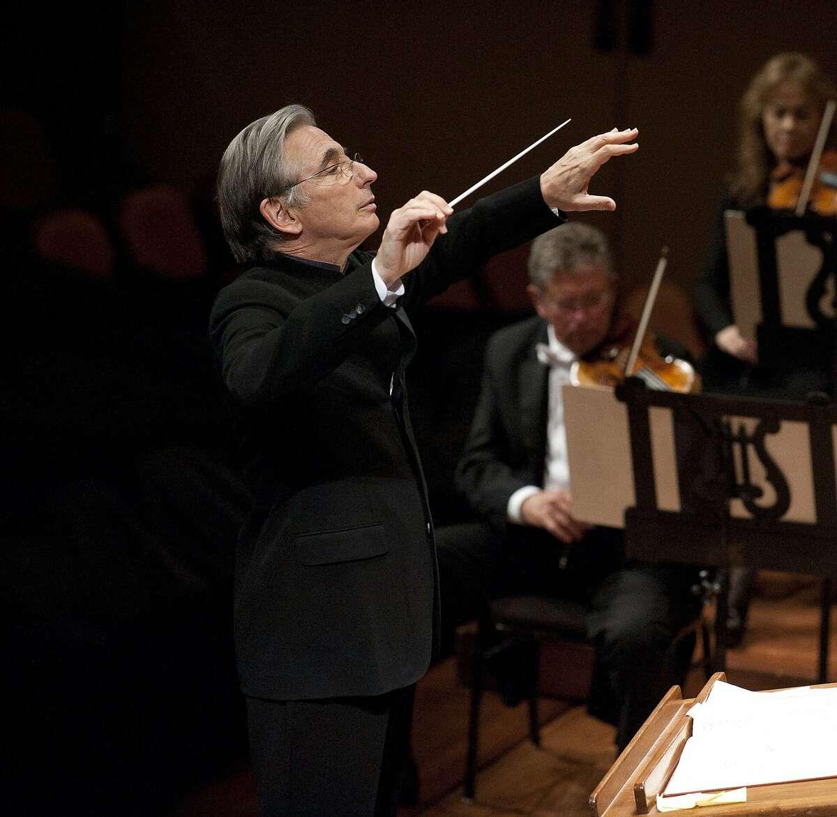 Michael Tilson Thomas San Francisco Symphony dress rehearsal at Davies Symphony Hall on Wednesday September 21, 2011.