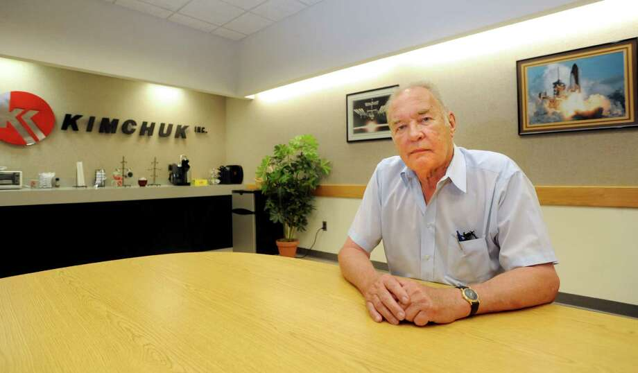 James Marquis, the president of Kimchuk Inc., in Danbury, Conn. on Tuesday, Aug. 19, 2014. Photo: Cathy Zuraw / The News-Times