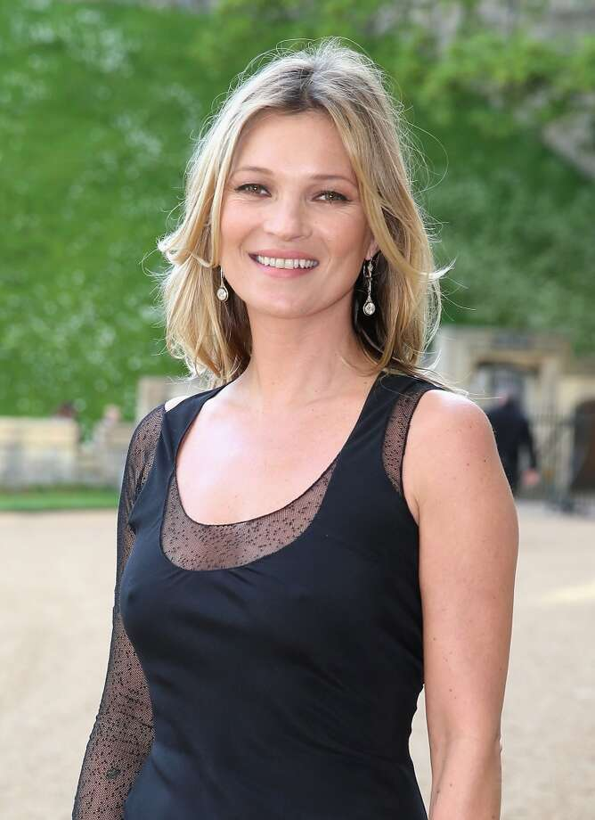 Kate Moss earned $7 million in 2014 ... Photo: Chris Jackson, Getty Images