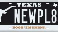 University of Texas license plates get makeover - Photo