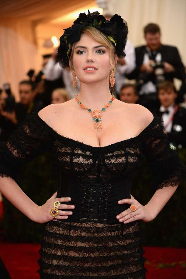 As did Kate Upton ... Photo: Dimitrios Kambouris, Getty Images