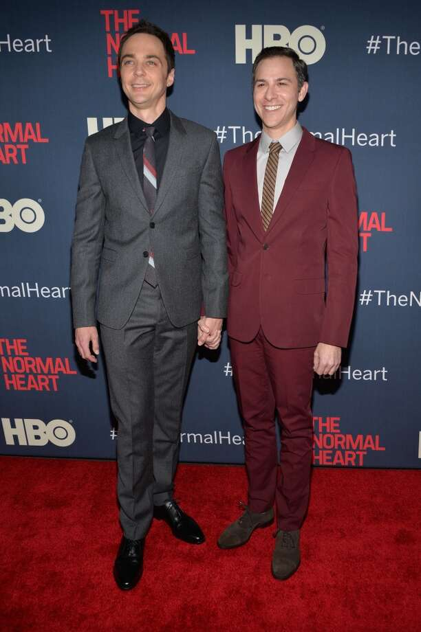 Jim Parsons recently called out rumors that he and his partner, Todd Spiewak, are engaged. The couple recently sold their home and later purchased another from 'Twilight' star Robert Pattinson. Keep clicking to see how the star lived in both homes.