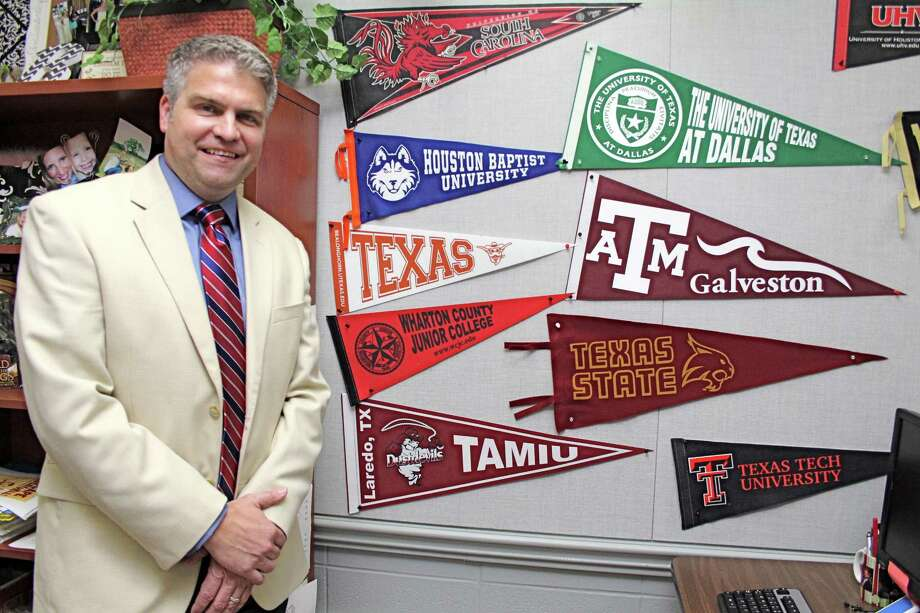 Steven Shiels has been appointed FBISD's new director of college and career readiness. Photo: Suzanne Rehak, Freelance Photographer