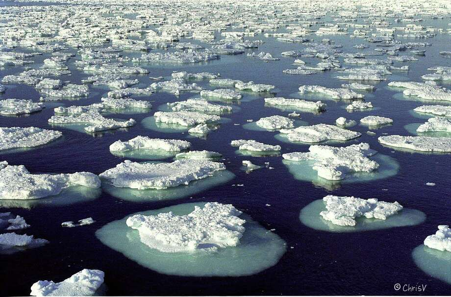 "Researchers from NASA and the University of California Irvine studying ice in an area of west Antarctica called the Amundsen Sea Embayment report a ""continuous and rapid retreat"" of glaciers there. They worry that, perhaps as soon as two centuries from now, the area could melt entirely -- leading to between 4 and 10 feet of sea level rise around the world. Above, melting ice floes in Antarctica. Photo: Contributed Photo, Contributed / New Canaan News Contributed"