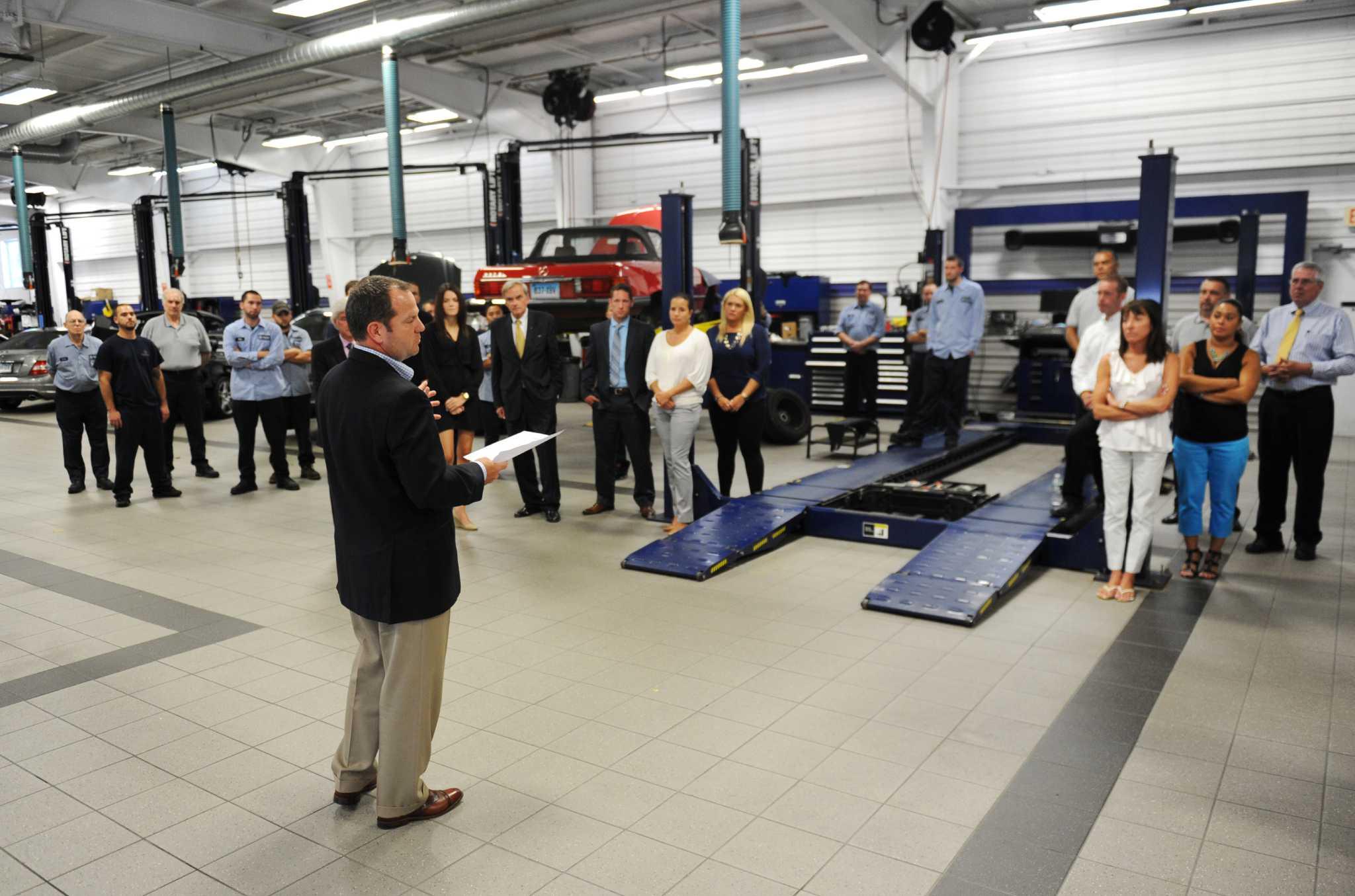 Top of mercedes benz of danbury staff fiat world test drive for Mercedes benz of chandler staff