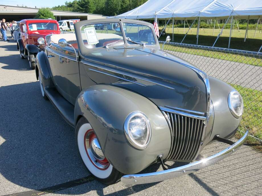 1939 Ford Deluxe convertible. Passed.