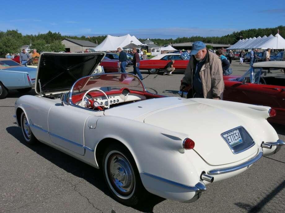 1954 Chevrolet Corvette. $75,900.