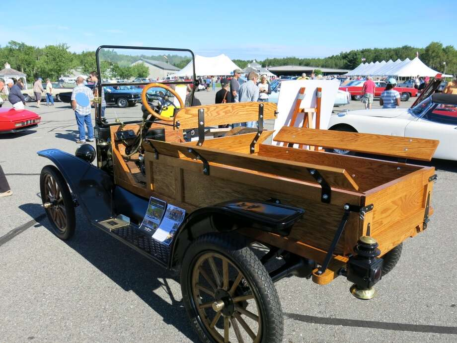 1914 Model T Express truck. (This car, made of spare and donated parts, was a collaborative project of the museum and students at the Mid-Coast School of Technology in nearby Rockland, Me. Proceeds from the sale -- the car went for $15,950 -- will help fund future projects.)