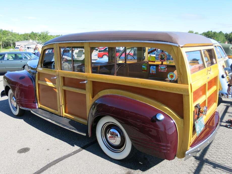 The 1941 Plymouth wagon.