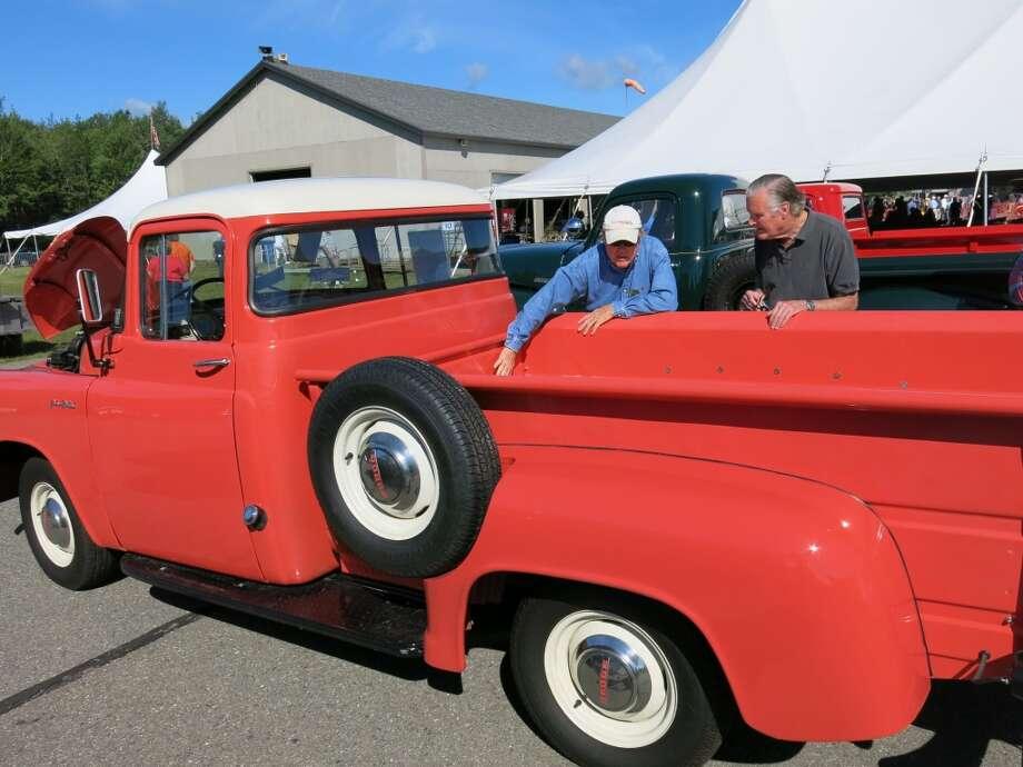 1955 Dodge Series B pickup. Passed.