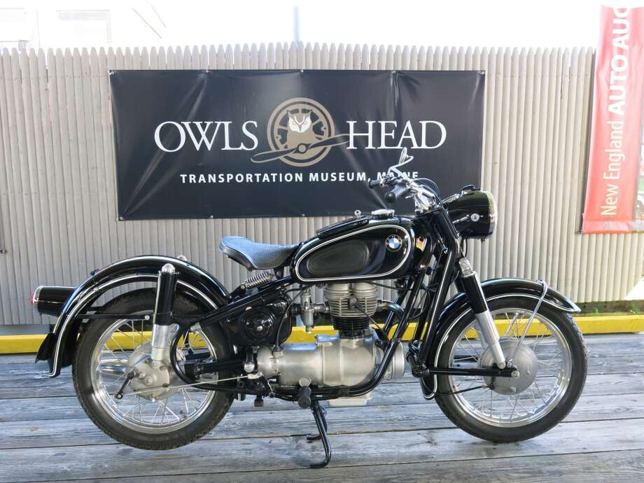 1960 BMW R26 motorcycle. $11,000.