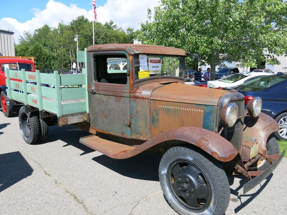 1932 Ford BB one-and-a-half ton truck. $6,050.