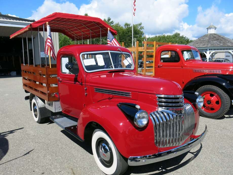 1946 Chevrolet 3100 Stake Body pickup. $13,200.