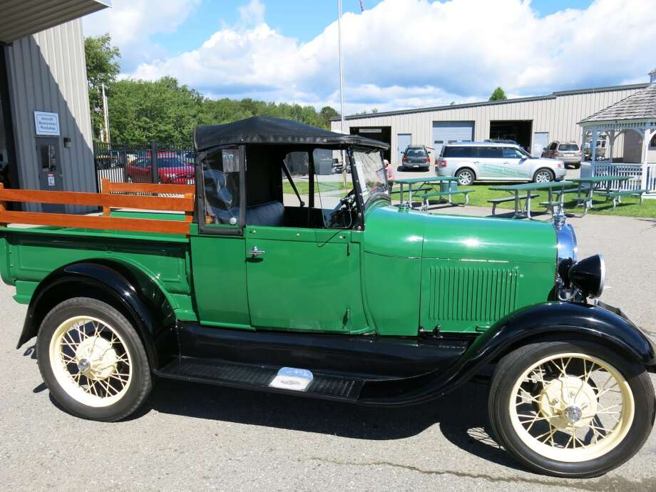 1929 Ford A roadster pickup. Passed.