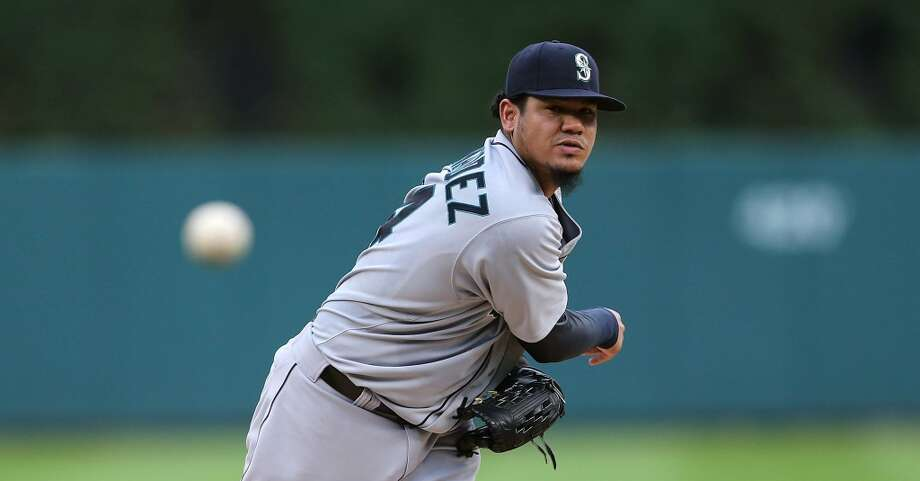 A.L. MVP — Felix Hernandez  We've written about it before: King Felix could be this year's American League MVP. In a 10-year career filled with career years, Hernandez in 2014 is having yet another career year. Seattle's ace stands atop the rest of the A.L.'s pitchers in just about every statistical category, and set a new MLB record of 16-consecutive games allowing two or fewer runs in seven or more innings of work. He is Hall of Fame material, and has been key to Seattle's success this season. Photo: Leon Halip, Getty Images