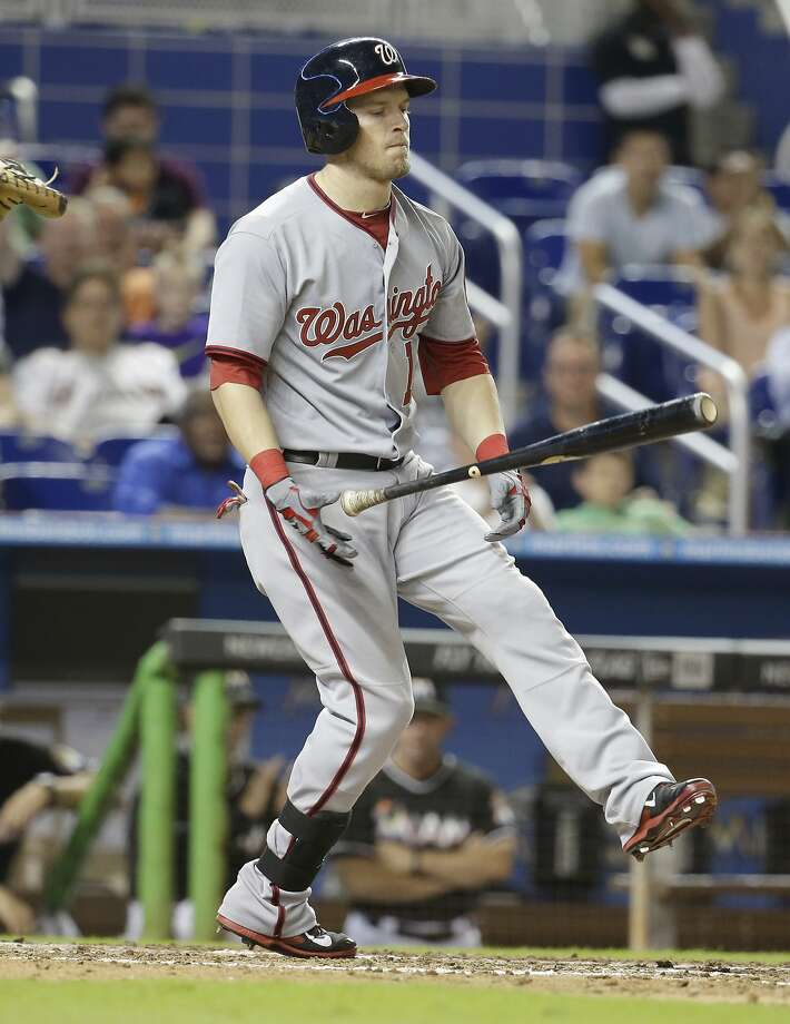 Outfielder Nate McLouth hit .173 in 79 games in his first season with Washington. Photo: Lynne Sladky, Associated Press