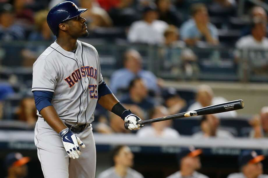 August 19: Astros 7, Yankees 4  Chris Carter's tiebreaking three-run homer in the 9th inning sent the Astros past the Yankss in the opener of the three-game set in New York.  Record: 53-73. Photo: Mike Stobe, Getty Images