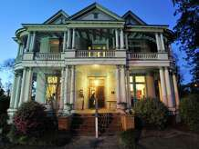 """The historic Kirby-Hill House Museum in Kountze will be the setting for The Kirby Hill-House Players upcoming Murder Mystery Dinner Theater production """"Dead of Winter.""""  Wednesday,  March 16, 2011.  Valentino Mauricio/The Enterprise"""