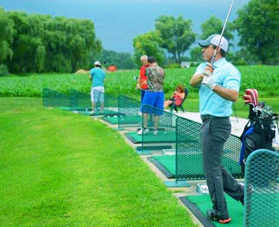 An upgraded driving range is an anchor for the Valley Golf Center, which now offers multiple club fitting and golf services along Danbury Road (Route 7 South) in New Milford. August 2014 Photo: Tyler Sizemore / The News-Times