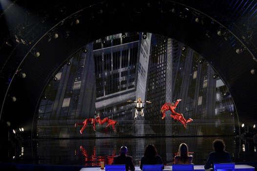 AMERICA'S GOT TALENT -- Episode 916 -- Pictured: Mothmen Dance -- (Photo by: Virginia Sherwood/NBC) Photo: NBC, Virginia Sherwood/NBC / 2014 NBCUniversal Media, LLC.