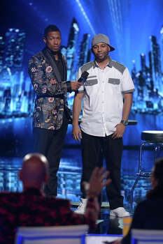 AMERICA'S GOT TALENT -- Episode 916 -- Pictured: (l-r) Nick Cannon, Smoothini-- (Photo by: Virginia Sherwood/NBC) Photo: NBC, Virginia Sherwood/NBC / 2014 NBCUniversal Media, LLC.