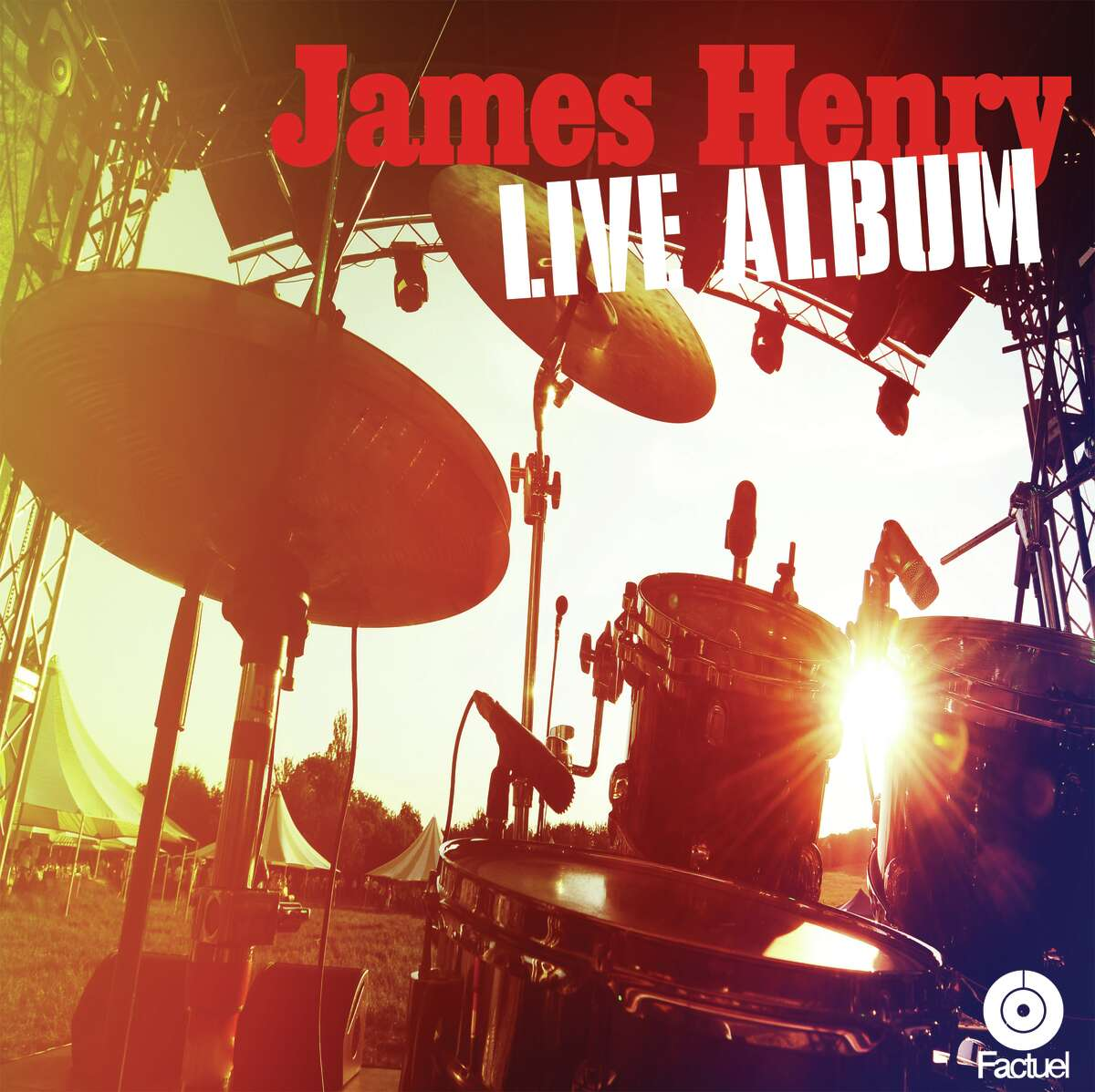 cover of James Henry Live Album