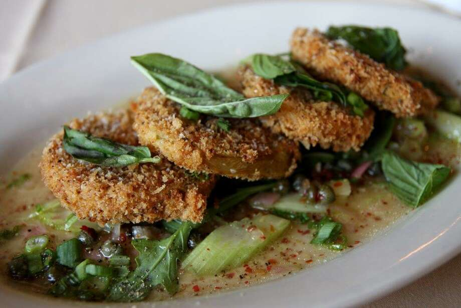 Fried green tomatoes at Roost Photo: Courtesy Photo