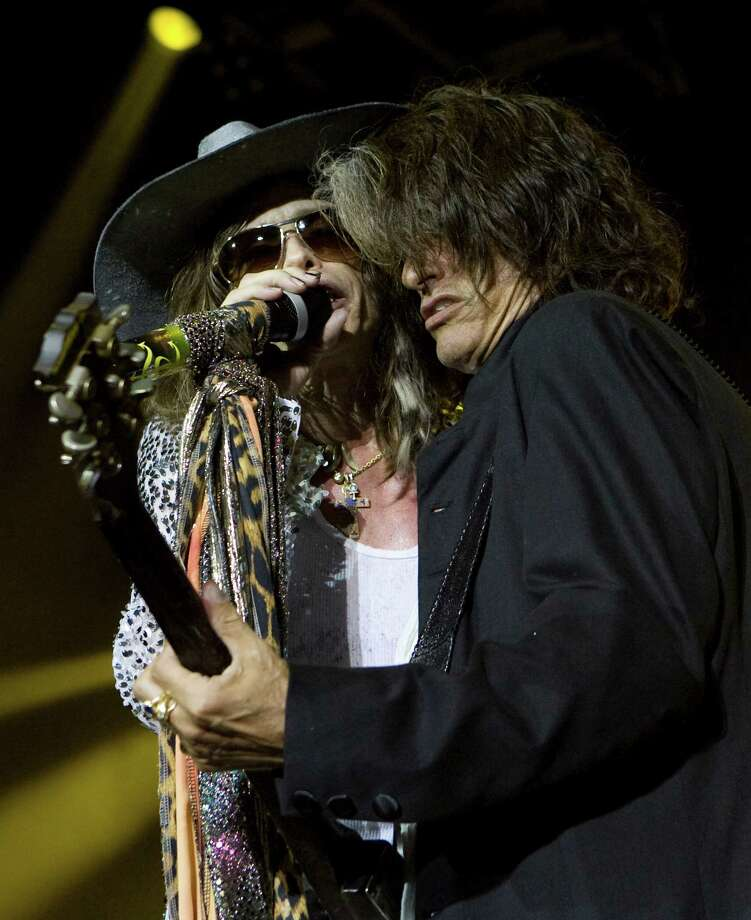 AerosmithEven KISS has played the rodeo at this point. This might also be Aerosmith's last year or so as a band if past interviews can be believed.  Photo: Brett Coomer, Staff / Houston Chronicle