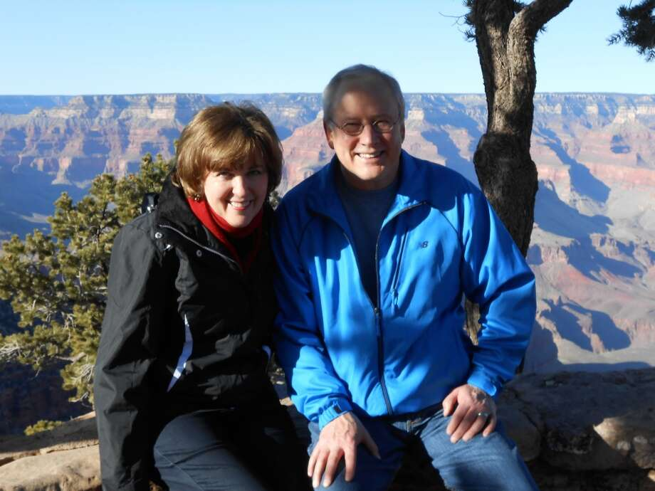 Corinne Yancy Gamel and Alan Gamel at the Grand Canyon, Feb. 28, 2012. Photo: Courtesy Photo