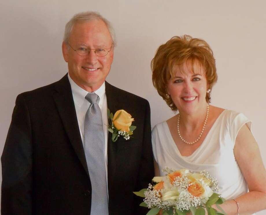 Corinne Yancy Gamel and Alan Gamel's wedding photo Aug. 15, 2011. Photo: Courtesy Photo