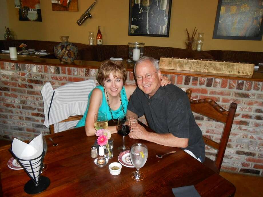 Corinne Yancy Gamel and Alan Gamel on their first anniversary in Boerne. Photo: Picasa, Courtesy Photo