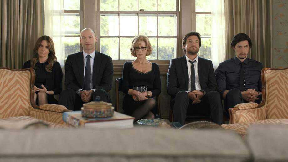 """""""This Is Where I Leave You,"""" featuring Tina Fey (left), Corey Stoll, Jane Fonda, Jason Bateman and Adam Driver, is about a patriarch who wants his family to sit shiva for him. Photo: Handout / Warner Bros. / MCT"""