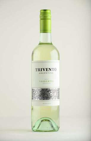 Trivento Torrontes, 2012 Argentina Monday May 12, 2014, at the Times Union in Colonie, N.Y. (Will Waldron/Times Union) Photo: WW