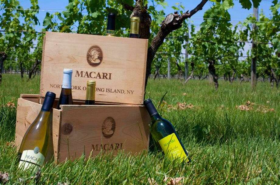 "Macari Vineyards of Long Island was named ""Winery of the Year,"" based on the percentage of wines entered that won medals.  (marcariwines.com)"