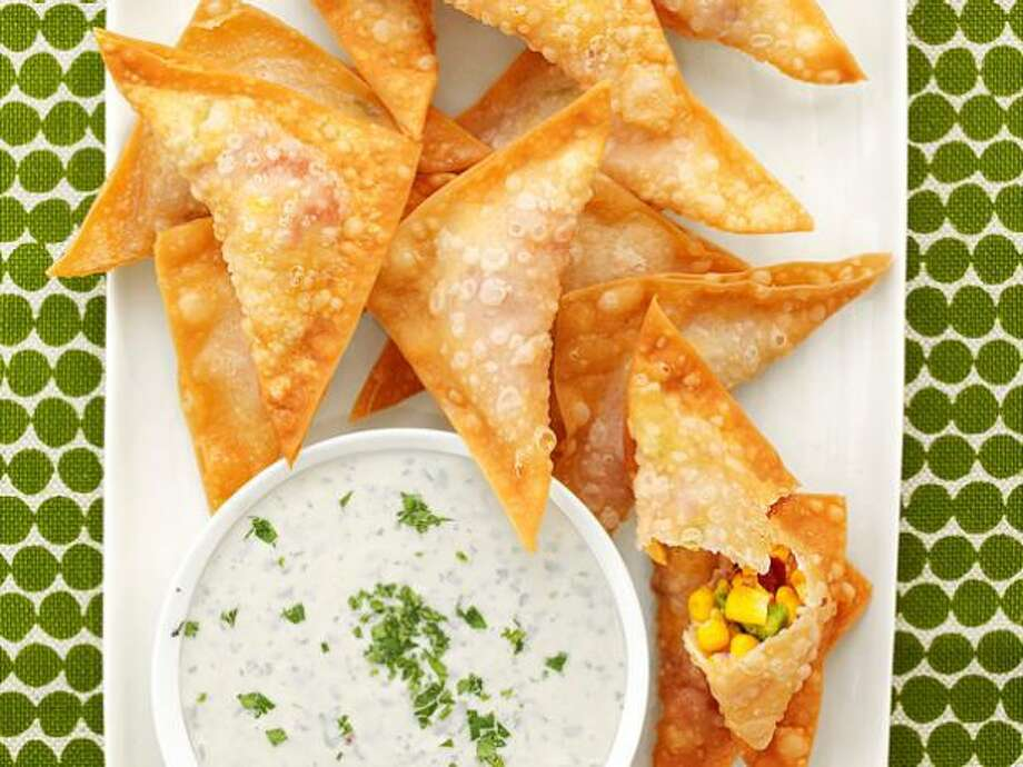 corn wontons / foodnetwork