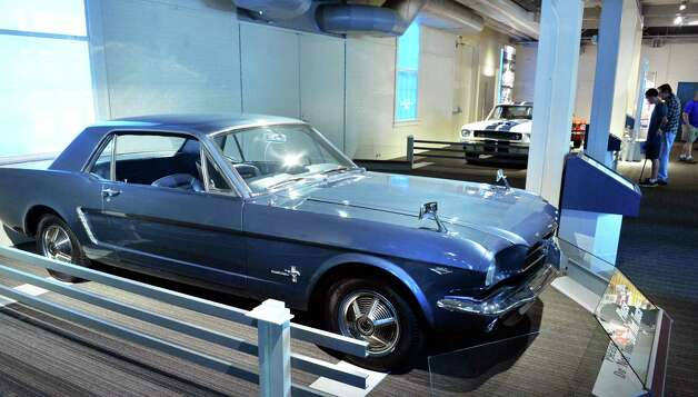 A 1965 all-wheel drive Mustang on display at the Saratoga Auto Museum Thursday June 19, 2014, in Saratoga Springs, NY.  (John Carl D'Annibale / Times Union) Photo: John Carl D'Annibale / 00027432A