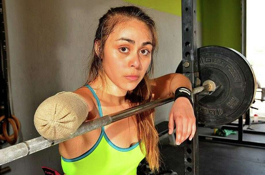 Krystal Cantu, a 25-year-old CrossFit athlete from San Antonio. Photo: Spencer Peeples / Barcroft USA , Courtesy, Krystal Cantu / Spencer Peeples / Barcroft USA