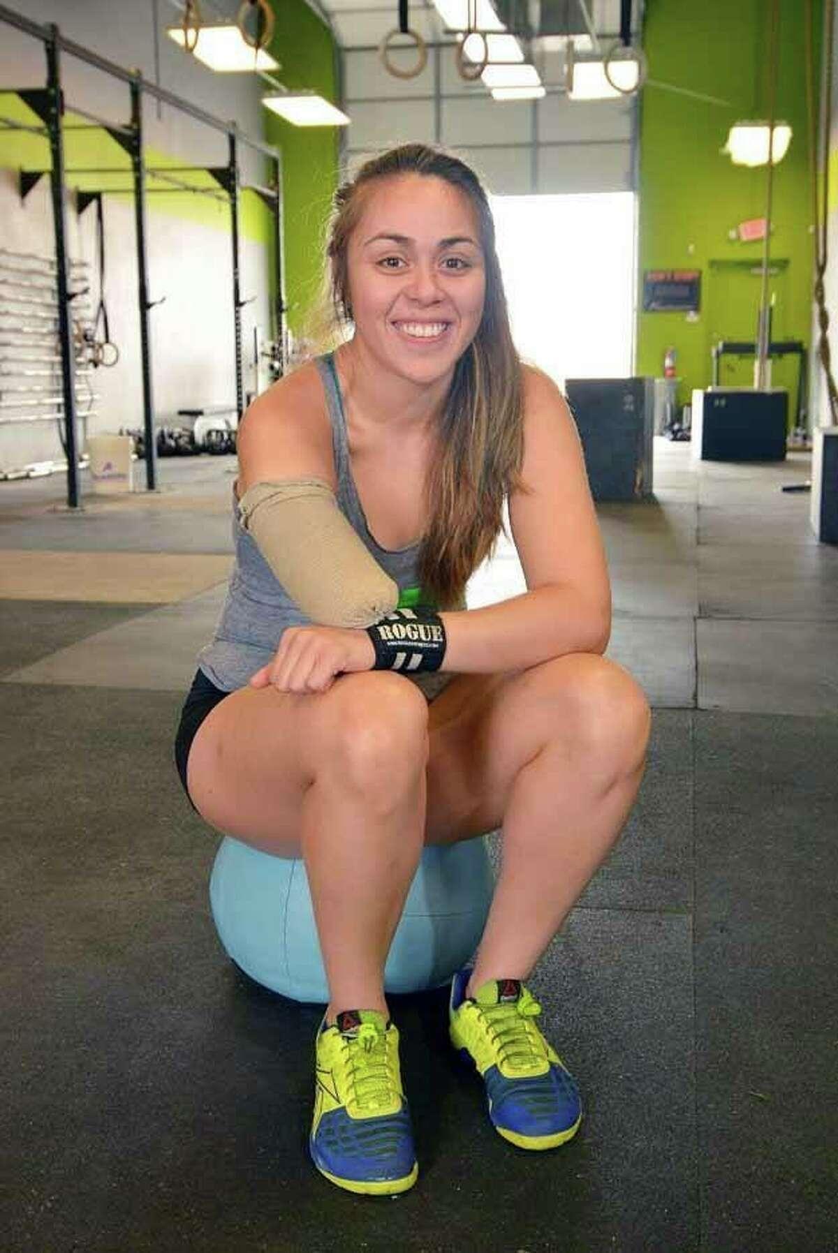Krystal Cantu, a 25-year-old CrossFit athlete from San Antonio.