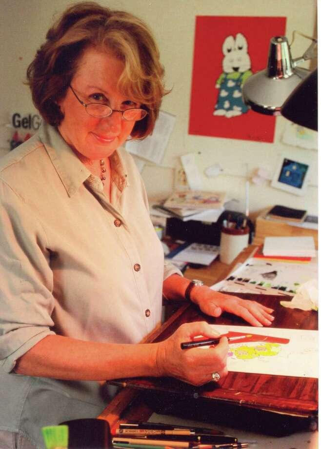 "Best-selling children's book author and illustrator Rosemary Wells is doing a reading and signing of her latest -  ""Max & Ruby"" book - ""Max & Ruby at the Warthog's Wedding"" - at the Fairfield Library on Tuesday, September 2. Photo: Contributed Photo / Connecticut Post Contributed"